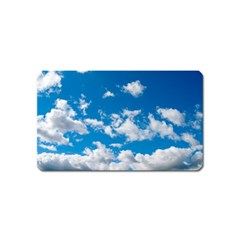 Bright Blue Sky Magnet (Name Card) by ansteybeta