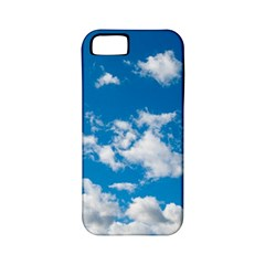 Bright Blue Sky Apple Iphone 5 Classic Hardshell Case (pc+silicone) by ansteybeta