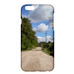 Dusty Road Apple Iphone 6 Plus Hardshell Case by ansteybeta