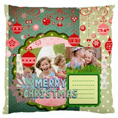 Xmas By Xmas   Large Flano Cushion Case (two Sides)   Ghrggp9x8rlo   Www Artscow Com Back