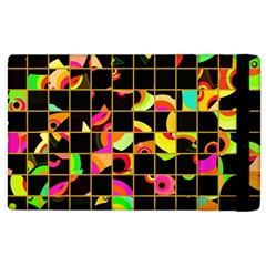 Pieces In Squares Apple Ipad 3/4 Flip Case by LalyLauraFLM