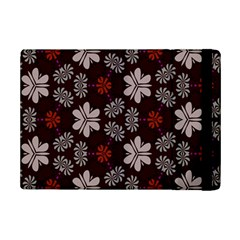 Floral pattern on a brown background	Apple iPad Mini 2 Flip Case by LalyLauraFLM