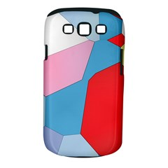 Colorful Pastel Shapes Samsung Galaxy S Iii Classic Hardshell Case (pc+silicone) by LalyLauraFLM