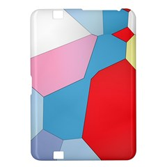 Colorful Pastel Shapes Kindle Fire Hd 8 9  Hardshell Case by LalyLauraFLM