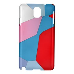 Colorful Pastel Shapes Samsung Galaxy Note 3 N9005 Hardshell Case by LalyLauraFLM