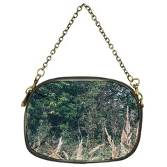Grass And Trees Nature Pattern Chain Purse (one Side) by ansteybeta