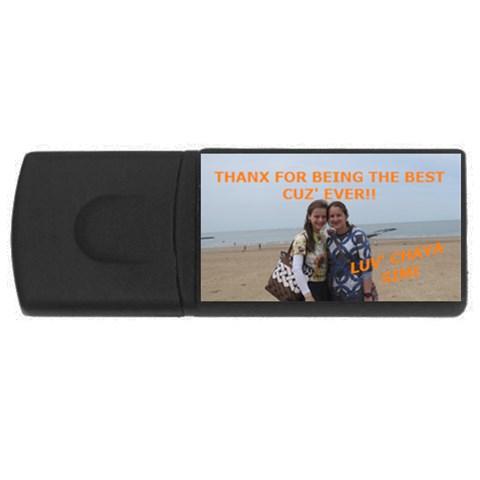 Ettis Usb Stick By Diane   Usb Flash Drive Rectangular (1 Gb)   Vj7uye1ypusf   Www Artscow Com Front