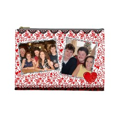 Wine   Sunset By Terry   Cosmetic Bag (large)   Fm7ibd183ady   Www Artscow Com Front