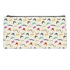 Mustaches Pencil Case by boho