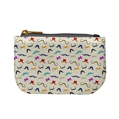 Mustaches Coin Change Purse by boho