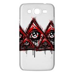 Red White Pyramids Samsung Galaxy Mega 5 8 I9152 Hardshell Case  by teeship