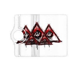 Red White Pyramids Kindle Fire Hd (2013) Flip 360 Case by teeship