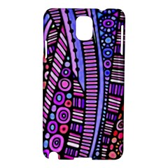 Stained Glass Tribal Pattern Samsung Galaxy Note 3 N9005 Hardshell Case by KirstenStar