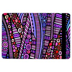 Stained Glass Tribal Pattern Apple Ipad Air 2 Flip Case by KirstenStar