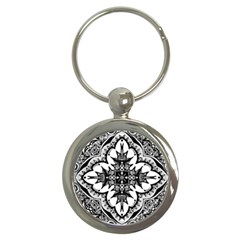 Doodle Cross  Key Chain (Round) by KirstenStar