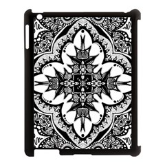 Doodle Cross  Apple Ipad 3/4 Case (black) by KirstenStar