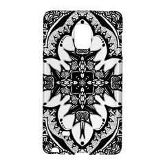 Doodle Cross  Samsung Galaxy Note Edge Hardshell Case by KirstenStar