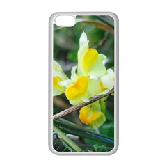 Linaria Apple Iphone 5c Seamless Case (white) by ansteybeta