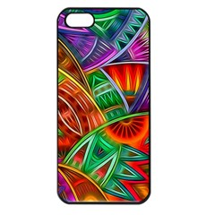 Happy Tribe Apple Iphone 5 Seamless Case (black) by KirstenStar