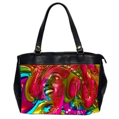Music Festival Oversize Office Handbag (Two Sides) by icarusismartdesigns
