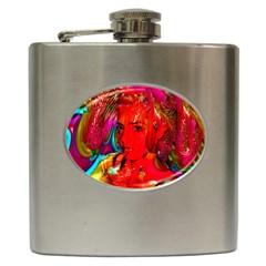 Mardi Gras Hip Flask by icarusismartdesigns