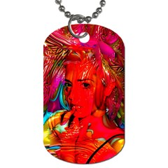 Mardi Gras Dog Tag (two Sided)  by icarusismartdesigns