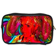 Mardi Gras Travel Toiletry Bag (two Sides) by icarusismartdesigns