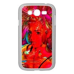Mardi Gras Samsung Galaxy Grand Duos I9082 Case (white) by icarusismartdesigns