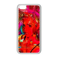 Mardi Gras Apple Iphone 5c Seamless Case (white) by icarusismartdesigns