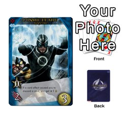 Ace Legenday Heroes Mutant Expansion 1 By Branden Sprenger   Playing Cards 54 Designs   K3rakh17zjr7   Www Artscow Com Front - DiamondA