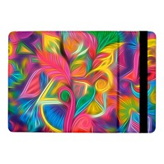 Colorful Floral Abstract Painting Samsung Galaxy Tab Pro 10 1  Flip Case by KirstenStar