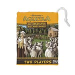 Agricola_All Creatures_L - Drawstring Pouch (Large)