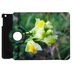 Linaria Flower Apple Ipad Mini Flip 360 Case by ansteybeta