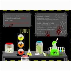 Scary Invite By Sierra Nitz   5  X 7  Photo Cards   Gne9comfj7ze   Www Artscow Com 7 x5 Photo Card - 5