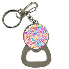 Candy Color s Circles Bottle Opener Key Chain by KirstenStar