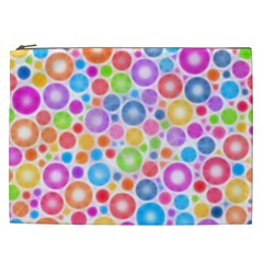 Candy Color s Circles Cosmetic Bag (xxl) by KirstenStar