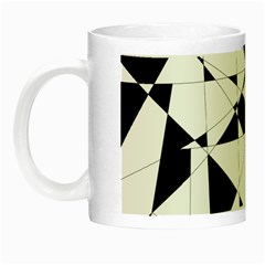 Shattered Life In Black & White Glow In The Dark Mug by StuffOrSomething