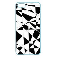Shattered Life In Black & White Apple Seamless Iphone 5 Case (color) by StuffOrSomething