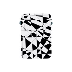 Shattered Life In Black & White Apple Ipad Mini Protective Sleeve by StuffOrSomething