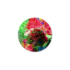 Summer Time Golf Ball Marker 4 Pack by icarusismartdesigns
