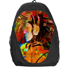 Robot Connection Backpack Bag by icarusismartdesigns