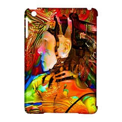 Robot Connection Apple Ipad Mini Hardshell Case (compatible With Smart Cover) by icarusismartdesigns
