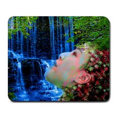 Fountain Of Youth Large Mouse Pad (rectangle) by icarusismartdesigns