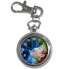 Fountain Of Youth Key Chain Watch by icarusismartdesigns