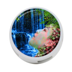 Fountain Of Youth 4 Port Usb Hub (two Sides) by icarusismartdesigns