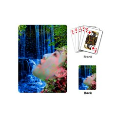 Fountain Of Youth Playing Cards (mini) by icarusismartdesigns