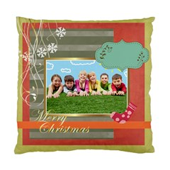 Xmas By Xmas   Standard Cushion Case (two Sides)   C4pa2o19b3vh   Www Artscow Com Front