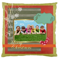Xmas By Xmas   Standard Flano Cushion Case (two Sides)   Yznjno1rgaty   Www Artscow Com Front
