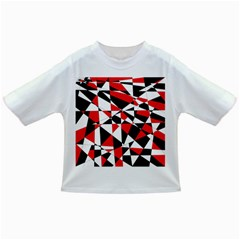 Shattered Life Tricolor Baby T Shirt by StuffOrSomething