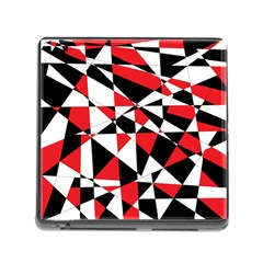 Shattered Life Tricolor Memory Card Reader With Storage (square) by StuffOrSomething